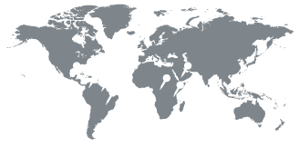 map pointing to Costa Rica, Colombia, Indonesia, India and others